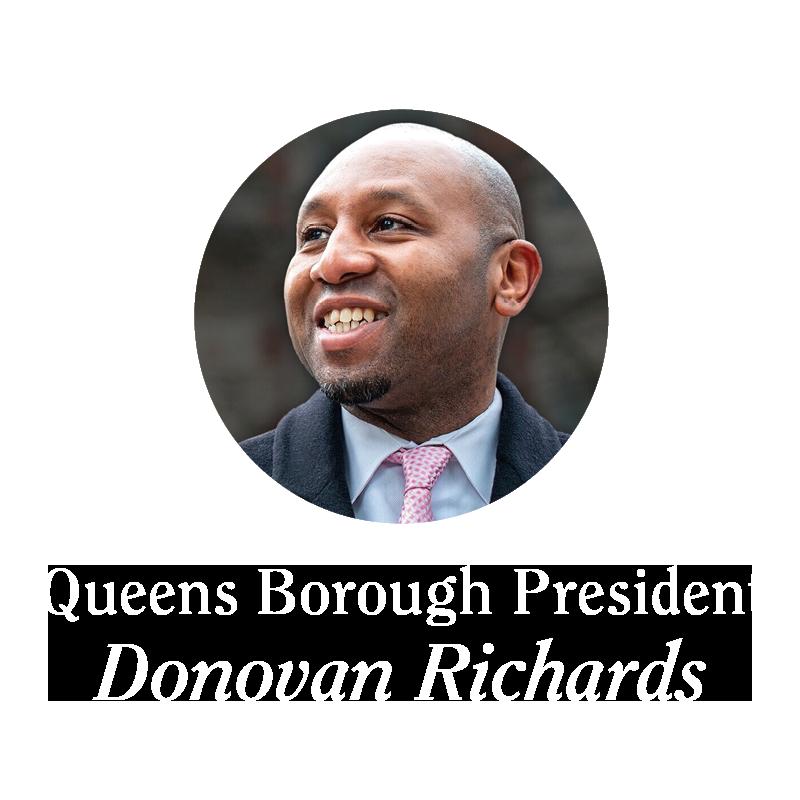 Queens Borough President Donovan Richards